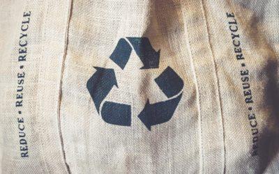 Textiles reciclados. Economía circular