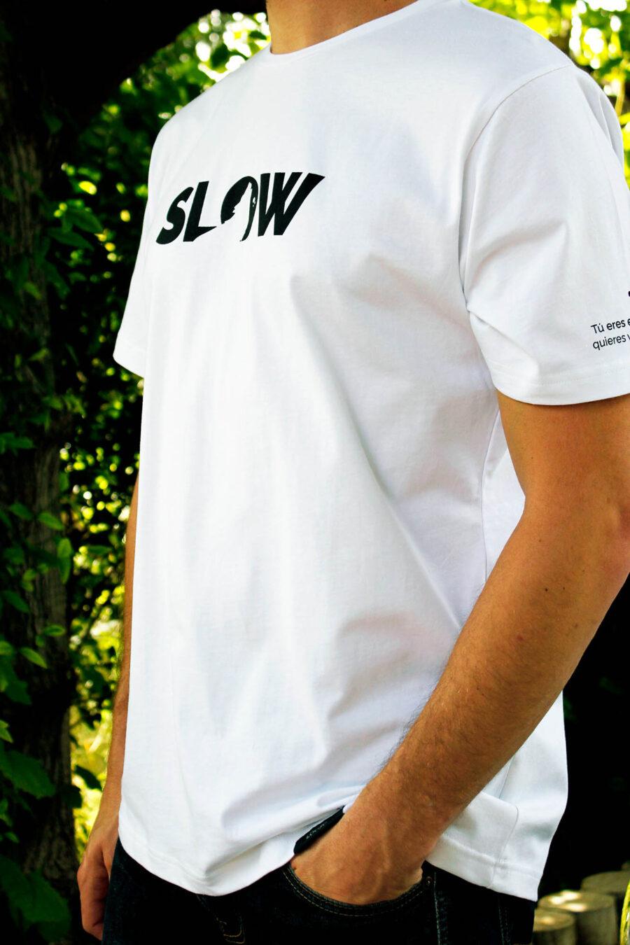 Camiseta Slow Blanca